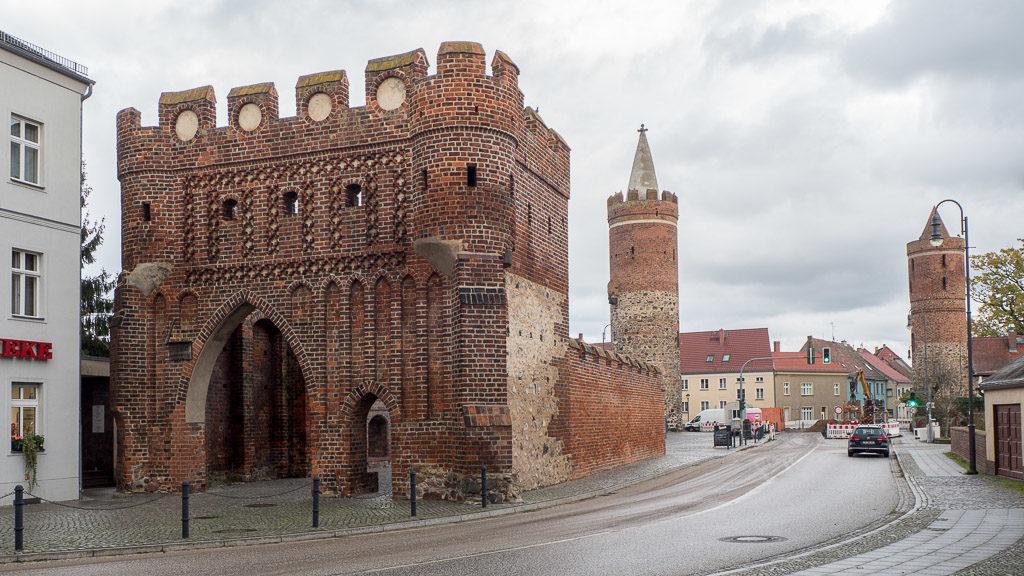 Jüterbog mittelalterliches Dammtor