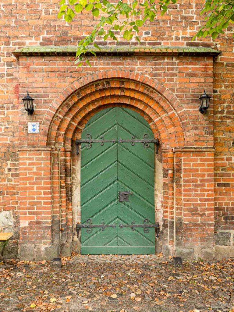 Liebfrauenkirche Jüterbog Portal im südlichen Querschiff