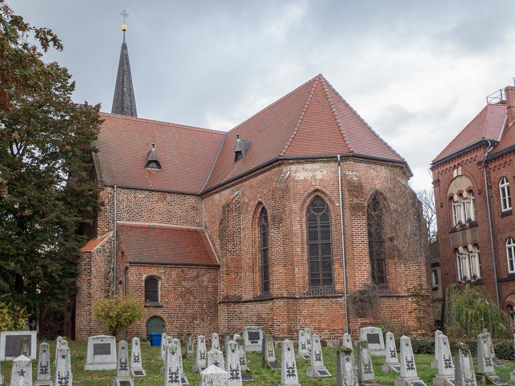 Liebfrauenkirche Jüterbog Ansicht von Südost