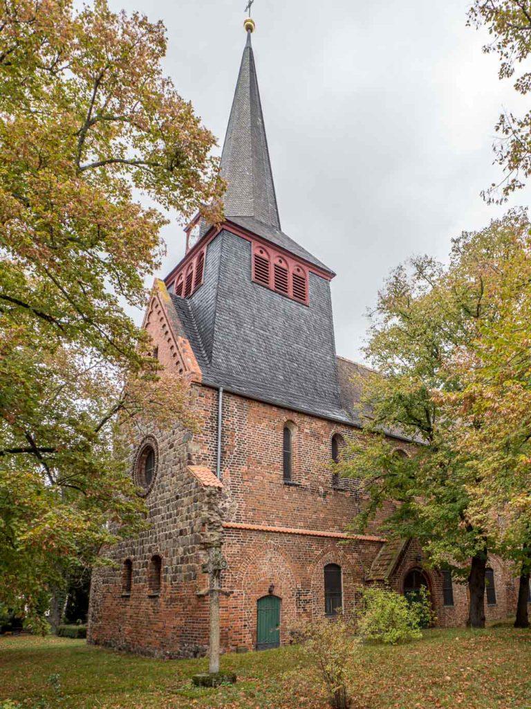 Liebfrauenkirche Jüterbog Ansicht von Südwest