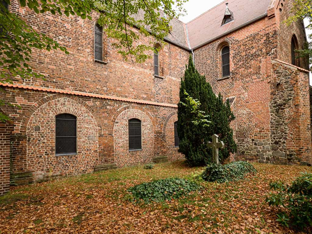 Liebfrauenkirche Jüterbog Arkaden des abgerissenen südlichen Seitenschiffs
