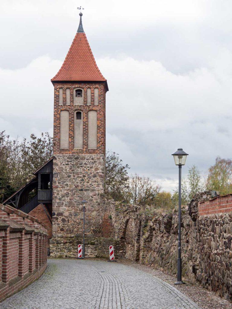 Jüterbog Teile der Stadtmauer