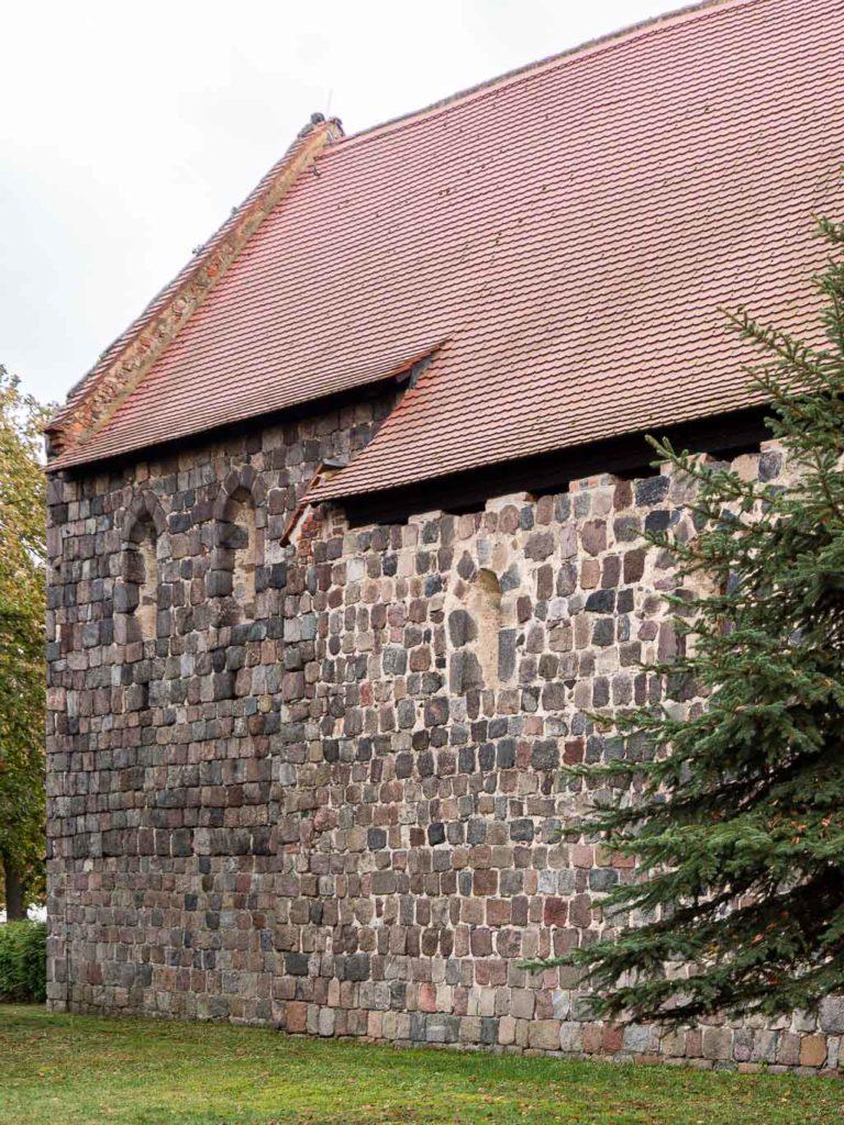 Jüterbog St. Jakobi Neumarkt originale Fenster in der Nordwand von Schiff und Chor