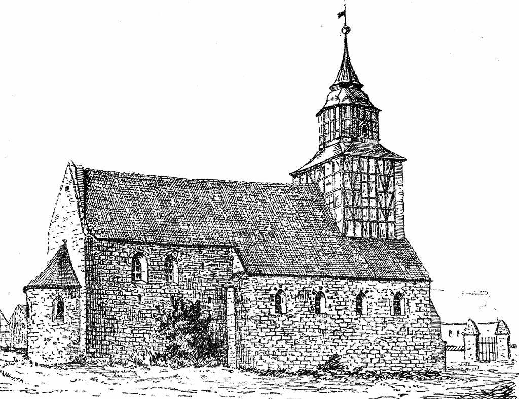 Nordansicht der Kirche St. Jacobi auf dem Neumarkt in Jüterbog