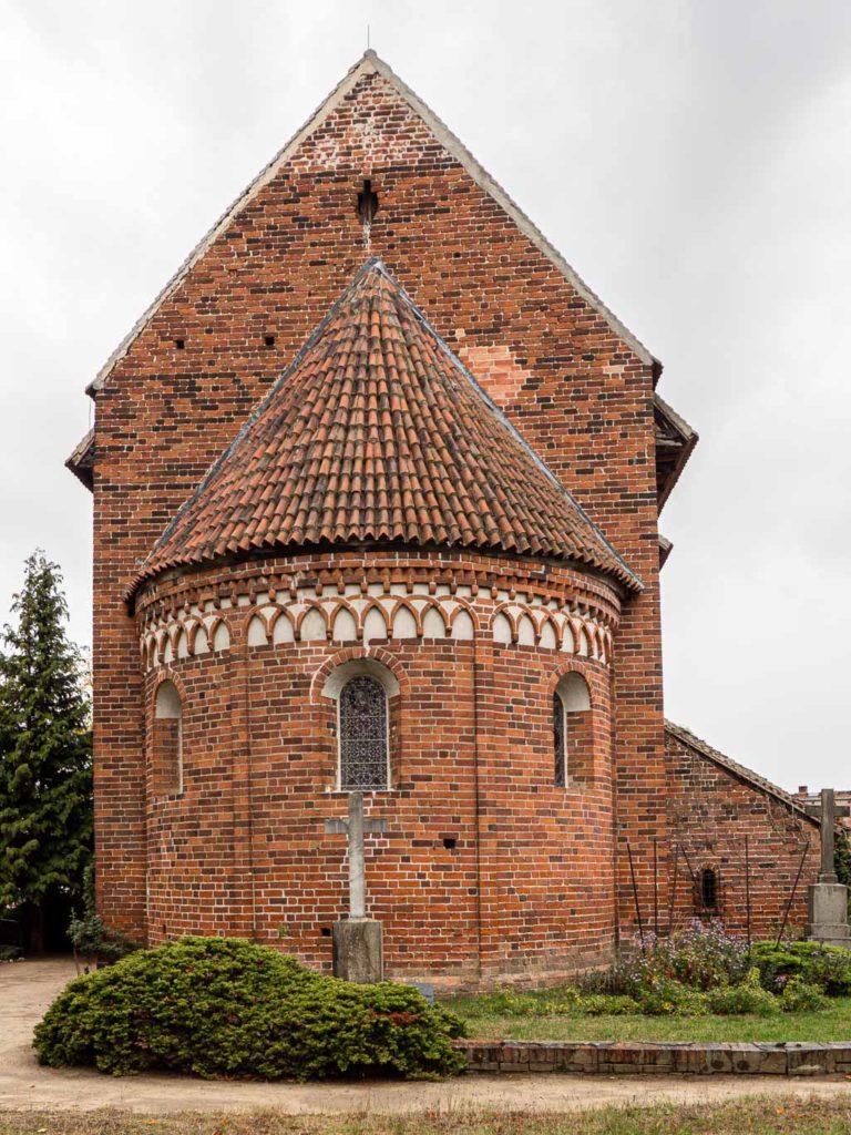 Dorfkirche Redekin Apsis
