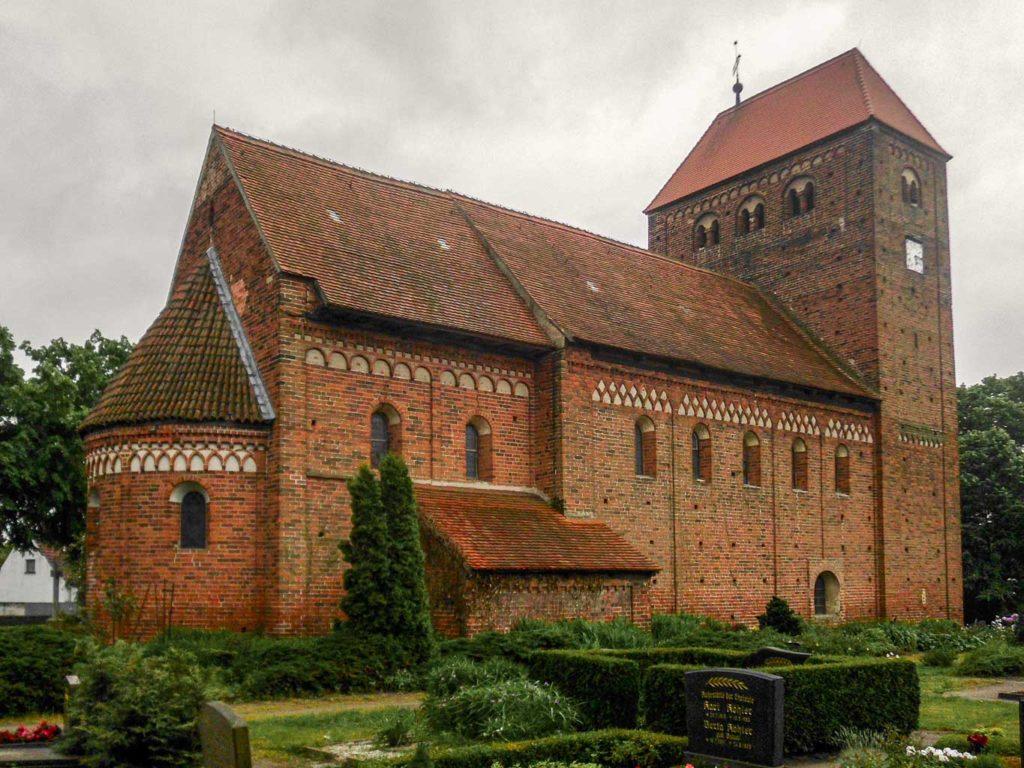 Dorfkirche Redekin Ansicht von Nordost
