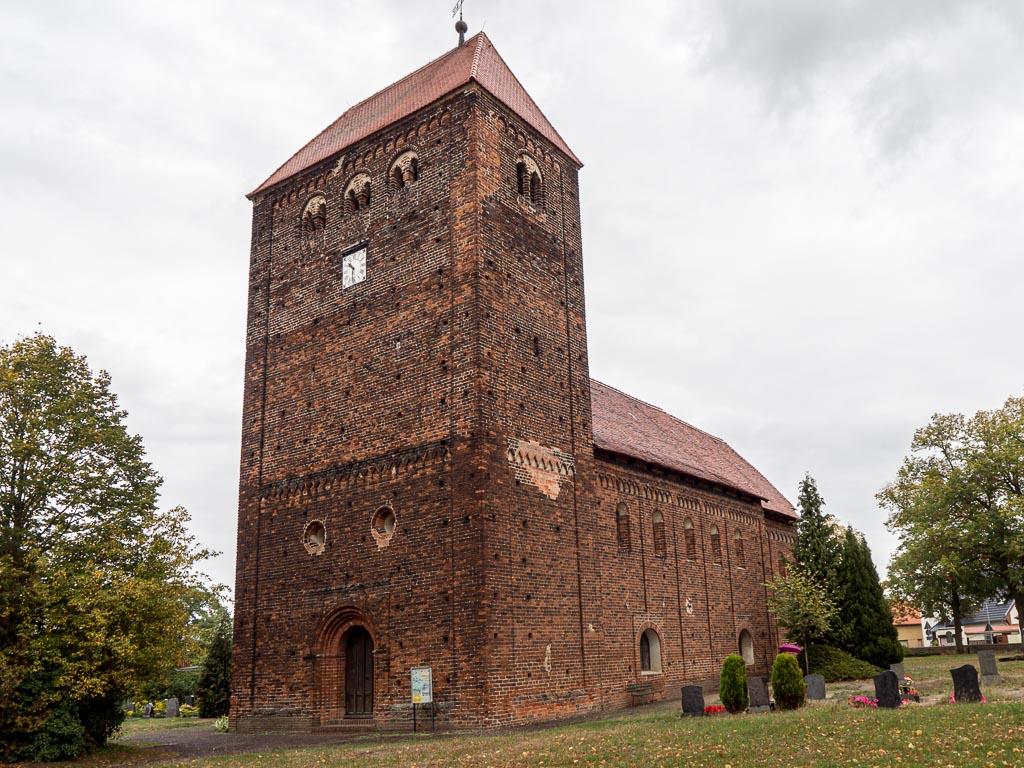 Dorfkirche Redekin Ansicht von Südwest