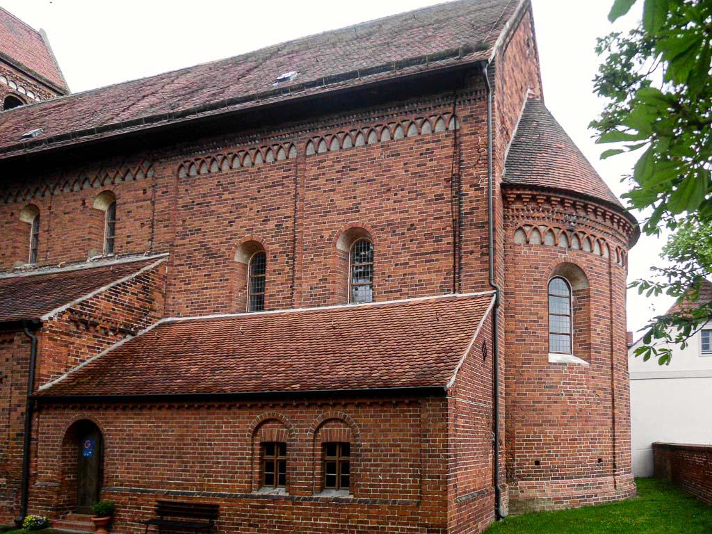 Dorfkirche Schönhausen Apsis, Chor und Patronatsloge Südseite