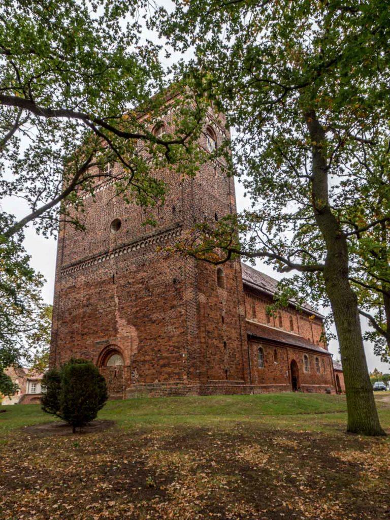Dorfkirche Schönhausen Ansicht von Südwest