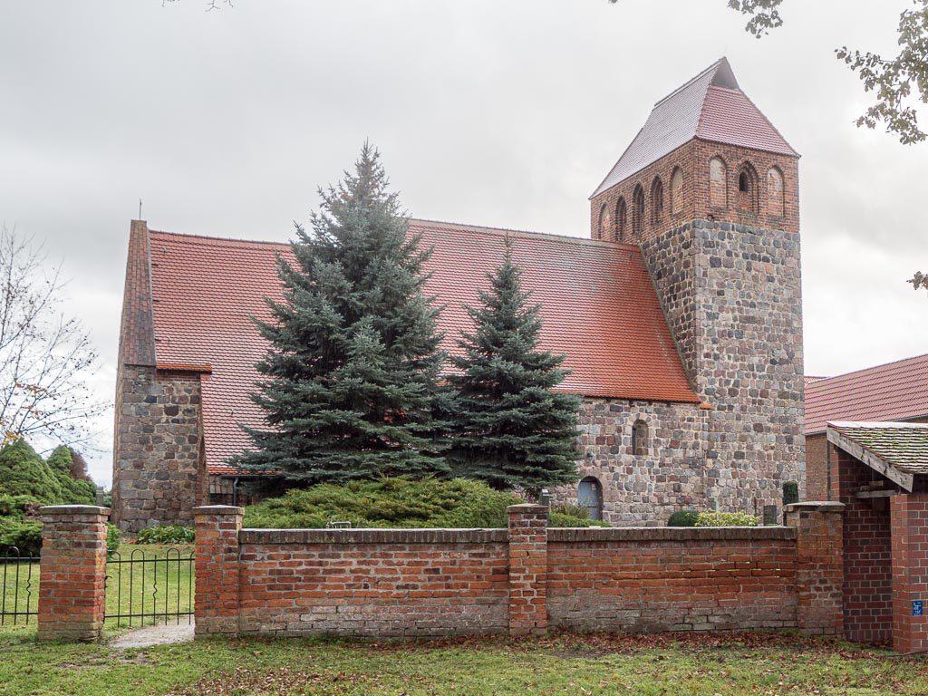 Dorfkirche Werder Jüterbog Ansicht von Norden