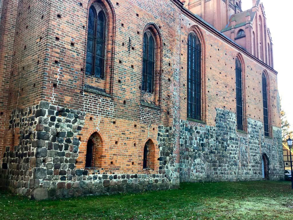 Nikolaikirche Pritzwalk. Nördliches Querschiff und Hauptschiff