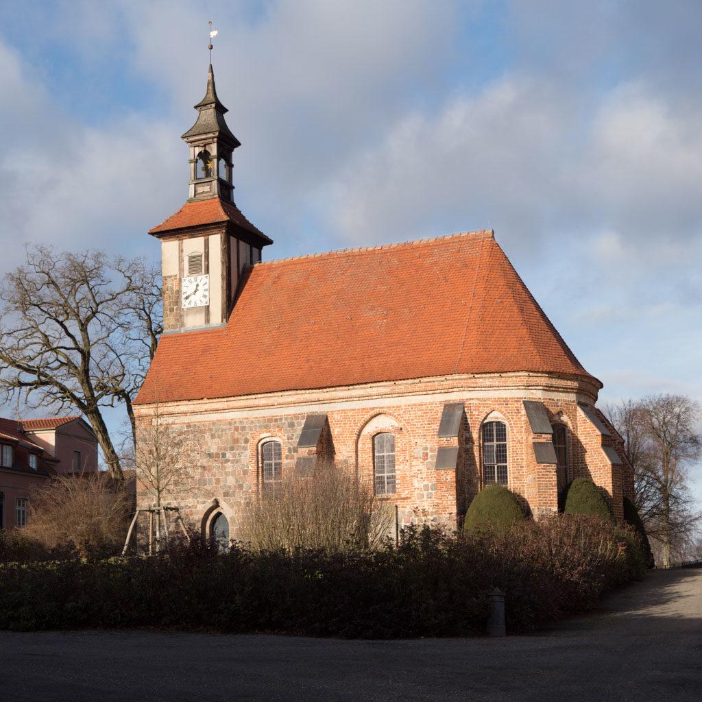 Komturei Lietzen Kirche Ansicht von Süden
