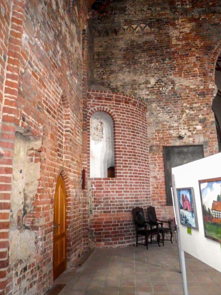 Stadtkirche Rathenow. Nebenapsis des südlichen Querschiffs, heute im Innenraum der Hallenkirche.