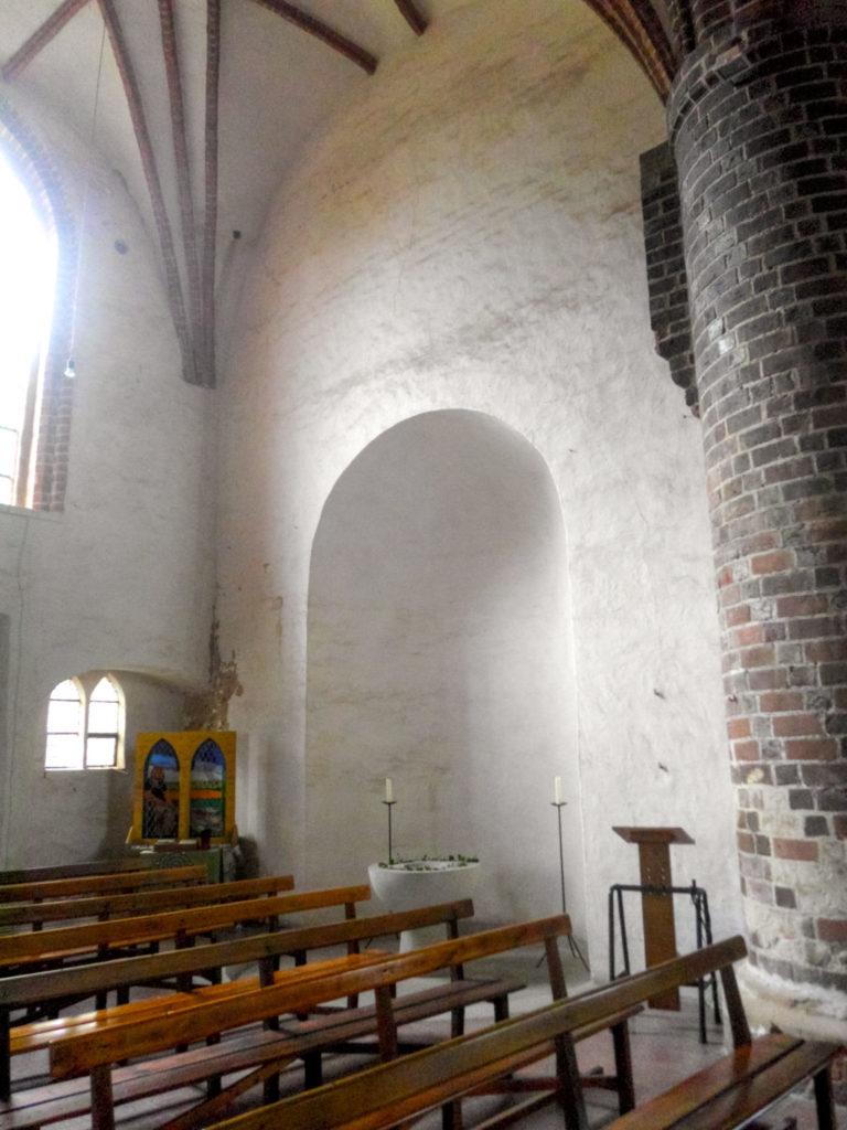 Stadtkirche Rathenow. Nebenapsis des nördlichen Querschiffs, heute im Innenraum der Hallenkirche.