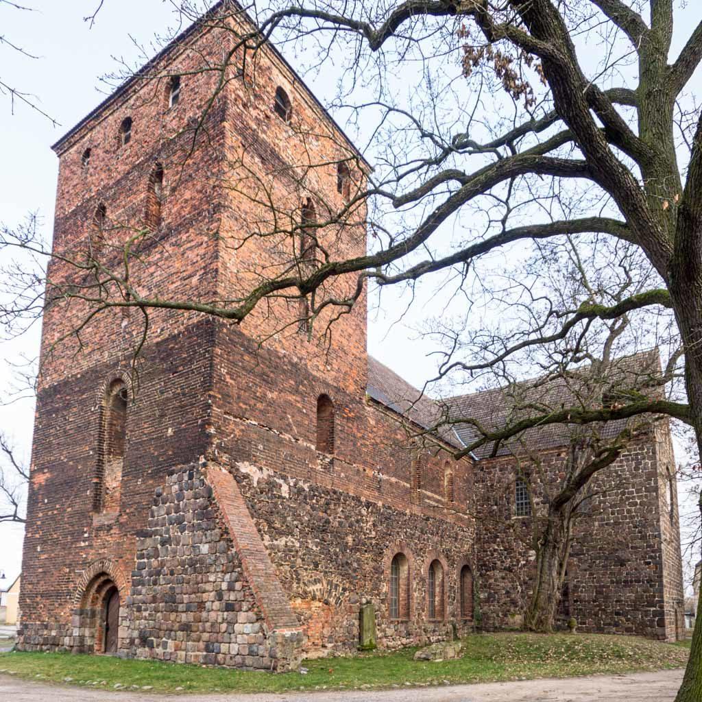 Stadtkirche Zahna-Elster. Ansicht von Südwest.