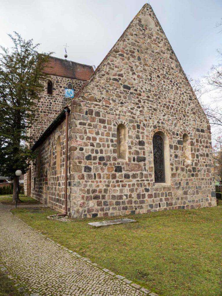 Dorfkirche Buckow Ansicht von Südost