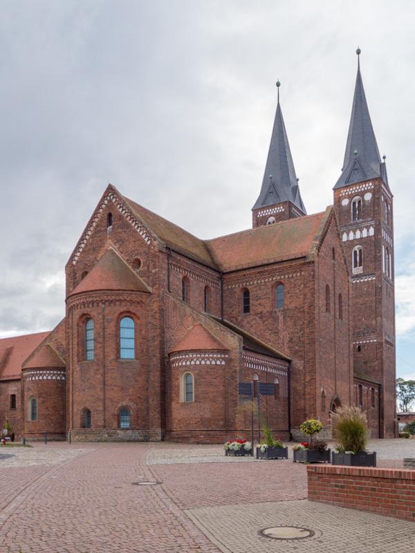 Backsteinroute Jerichower Land. Stiftskirche Jerichow