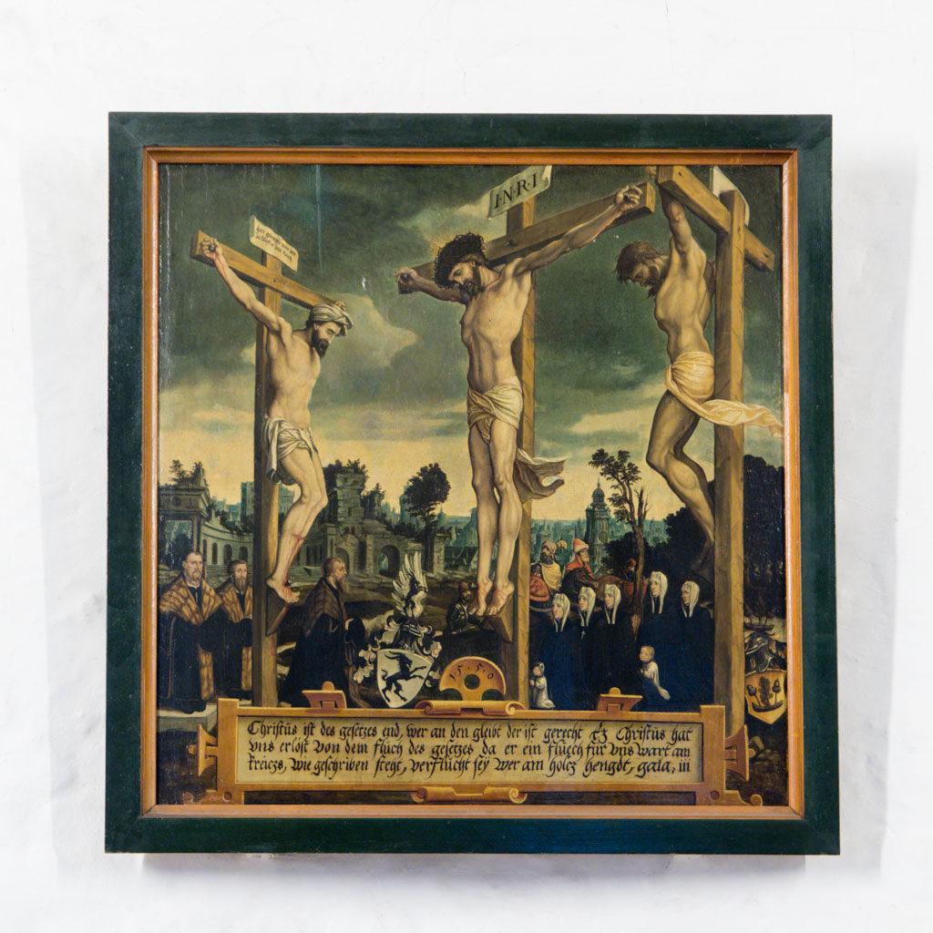 Dorfkirche Lankwitz Altarbild von 1550