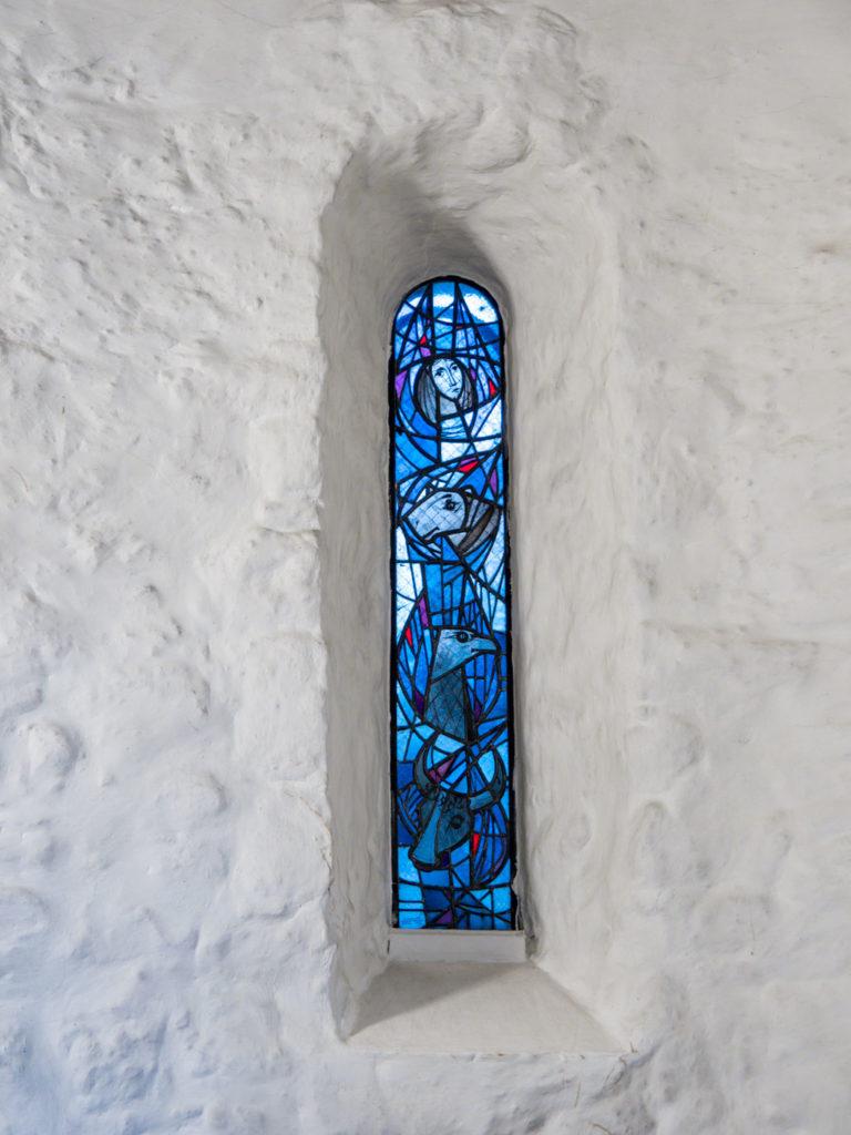 Dorfkirche Lankwitz Nördliches Apsisfenster innen