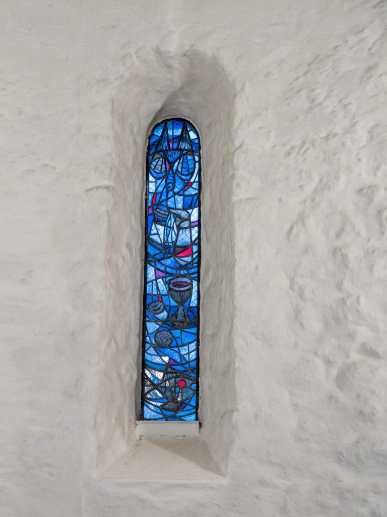 Dorfkirche Lankwitz Südliches Apsisfenster innen