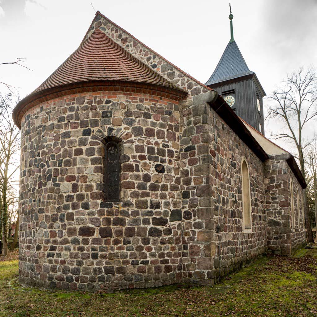 Dorfkirche Lankwitz Ansicht von Nordost