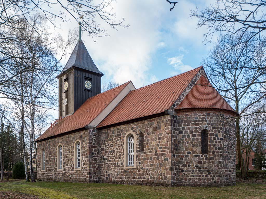 Dorfkirche Lankwitz Staffelung von Südost