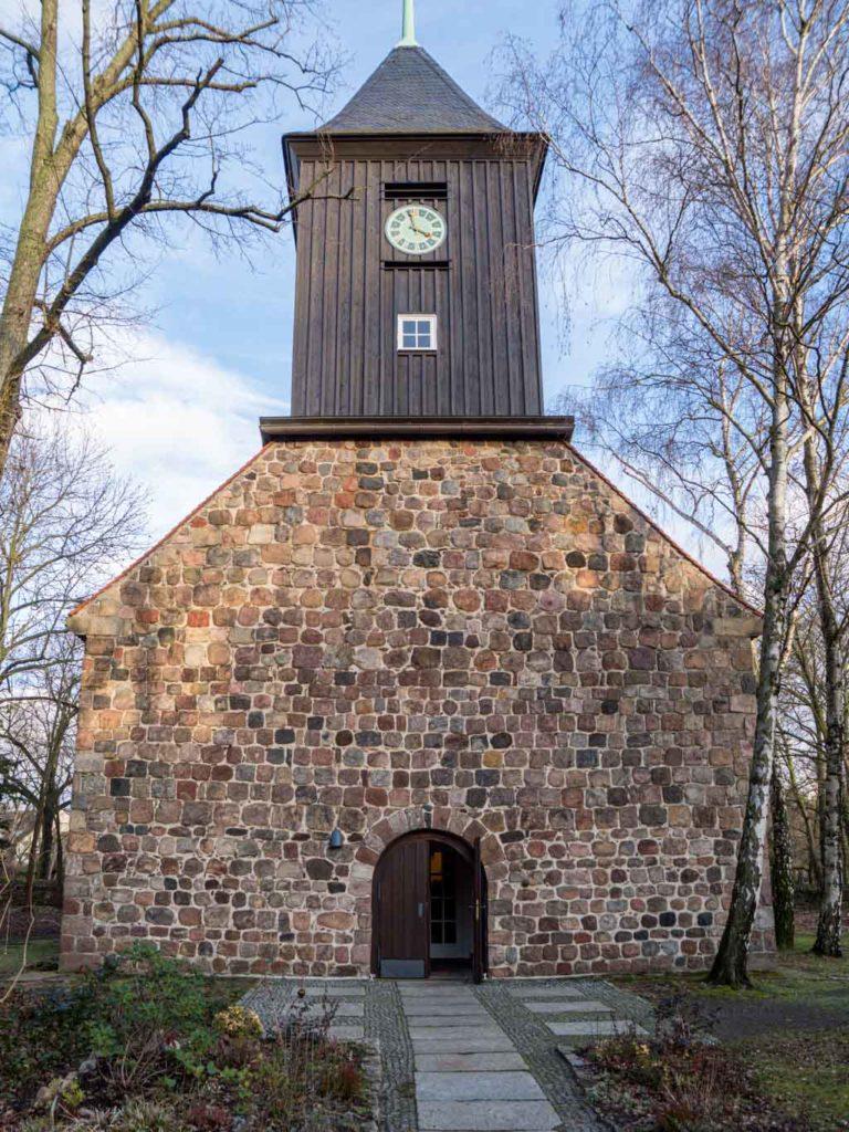 Dorfkirche Lankwitz Westfassade
