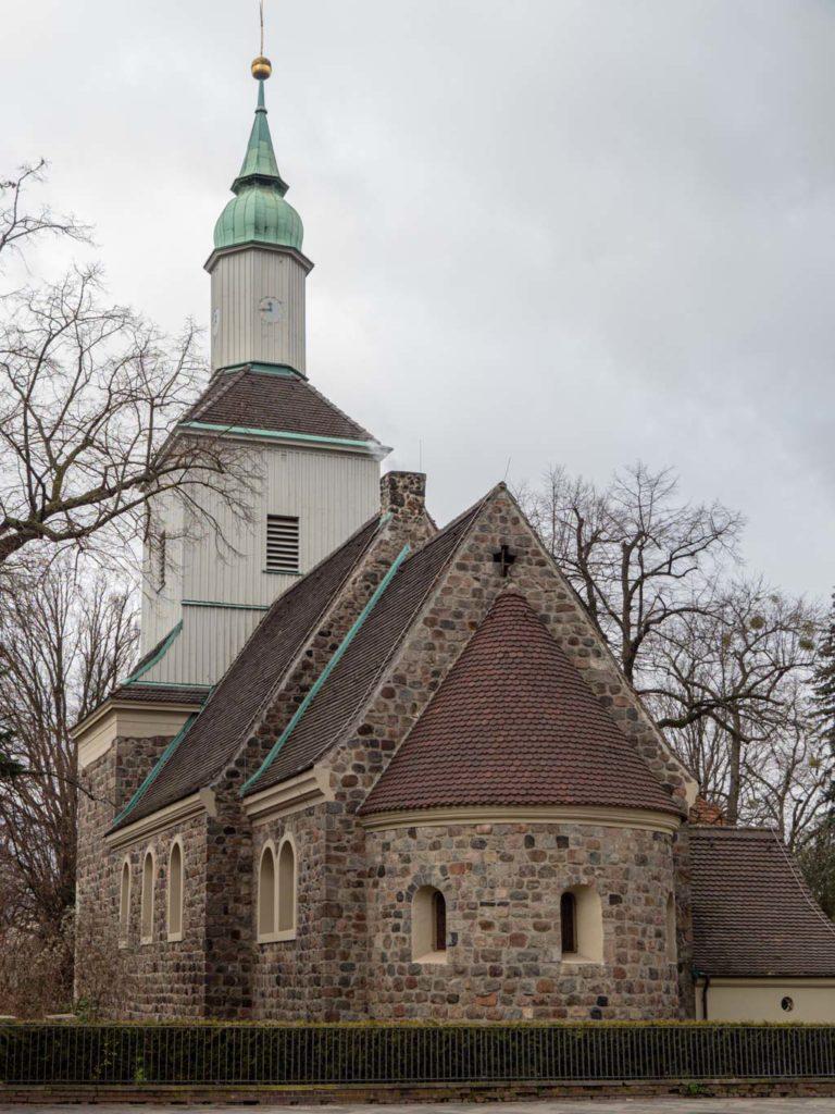 Dorfkirche Mariendorf Staffelung von Südost