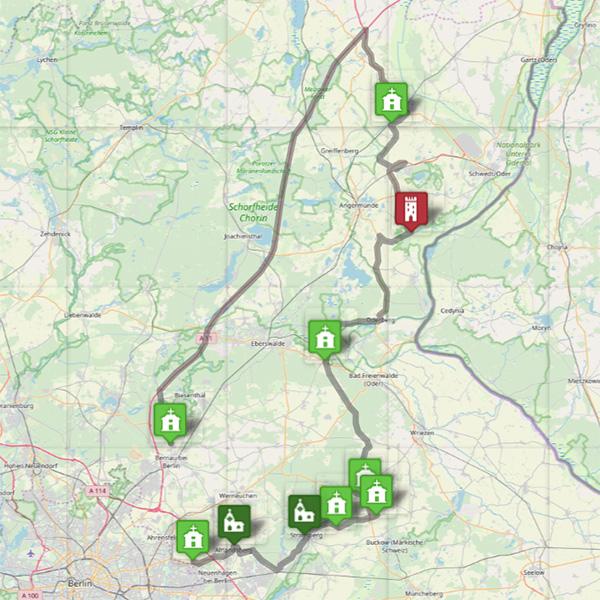 Nordöstliche Route