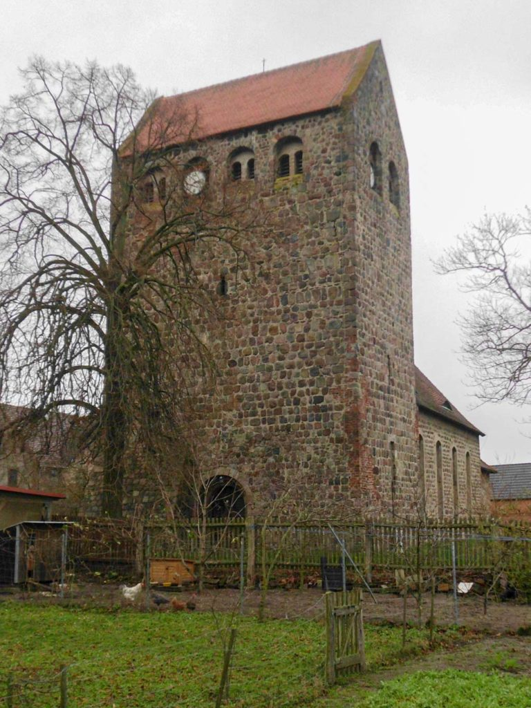 Dorfkirche Reetz Westriegel