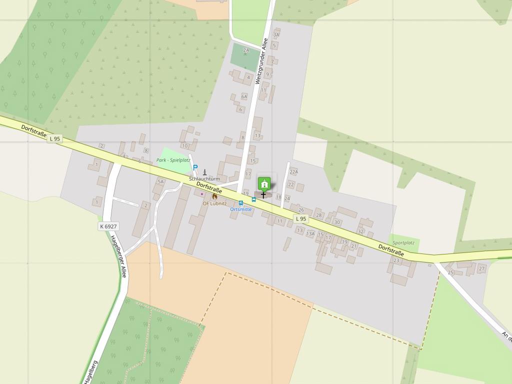Straßendorf Lübnitz