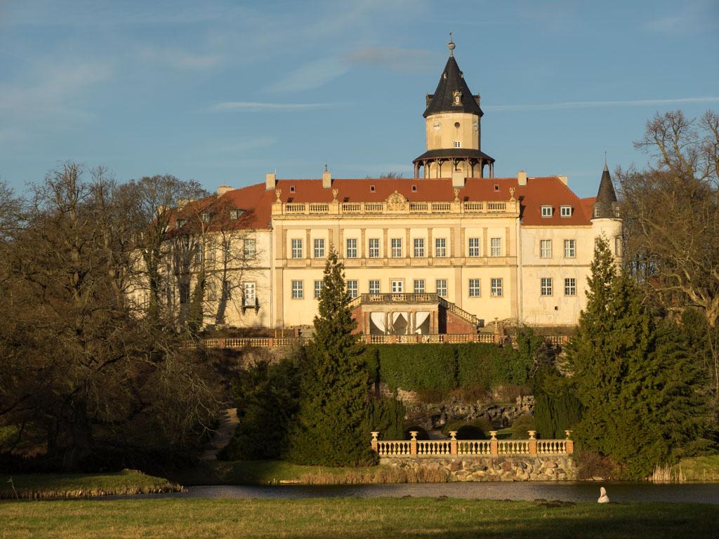 Wiesenburg Schloss und Park