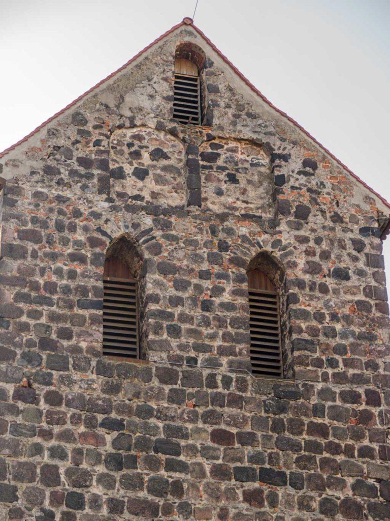 Dorfkirche Herzfelde nördliche Spitze des Turms