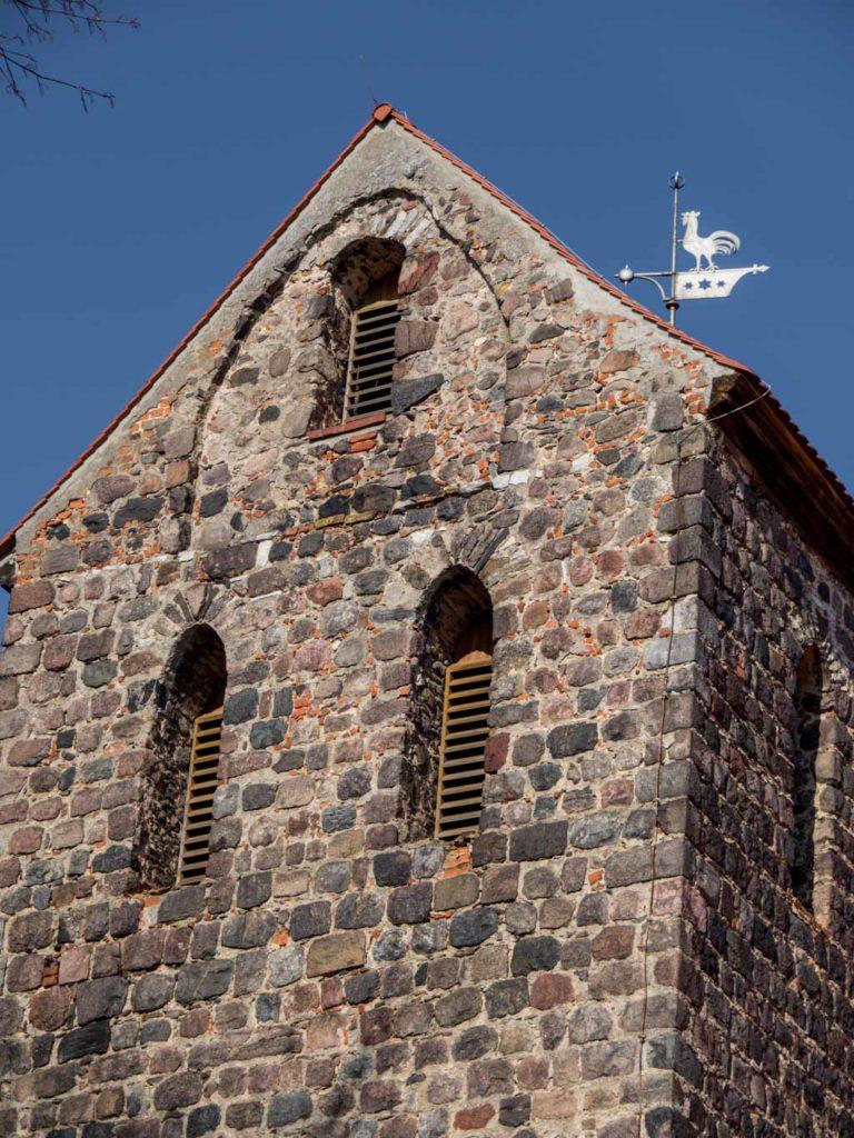 Dorfkirche Herzfelde südliche Spitze des Turms