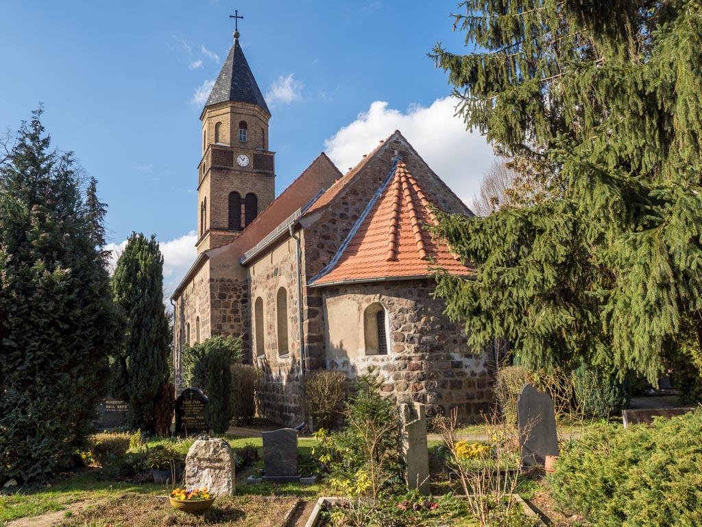 Dorfkirche Karow Ansicht von Südost