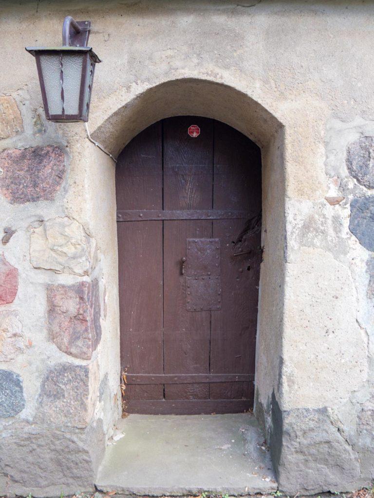 Dorfkirche Karow Tür zur Sakristei