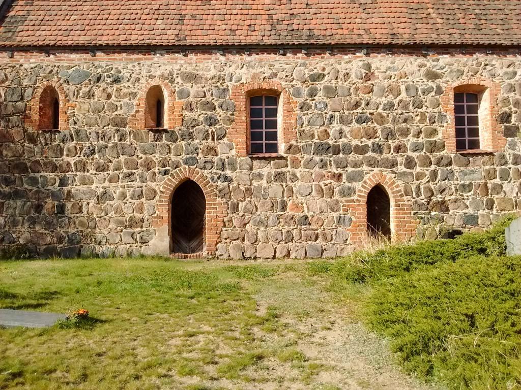 Dorfkirche Dalichow, Südfassade