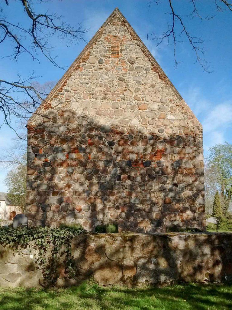 Dorfkirche Dalichow, Westfassade