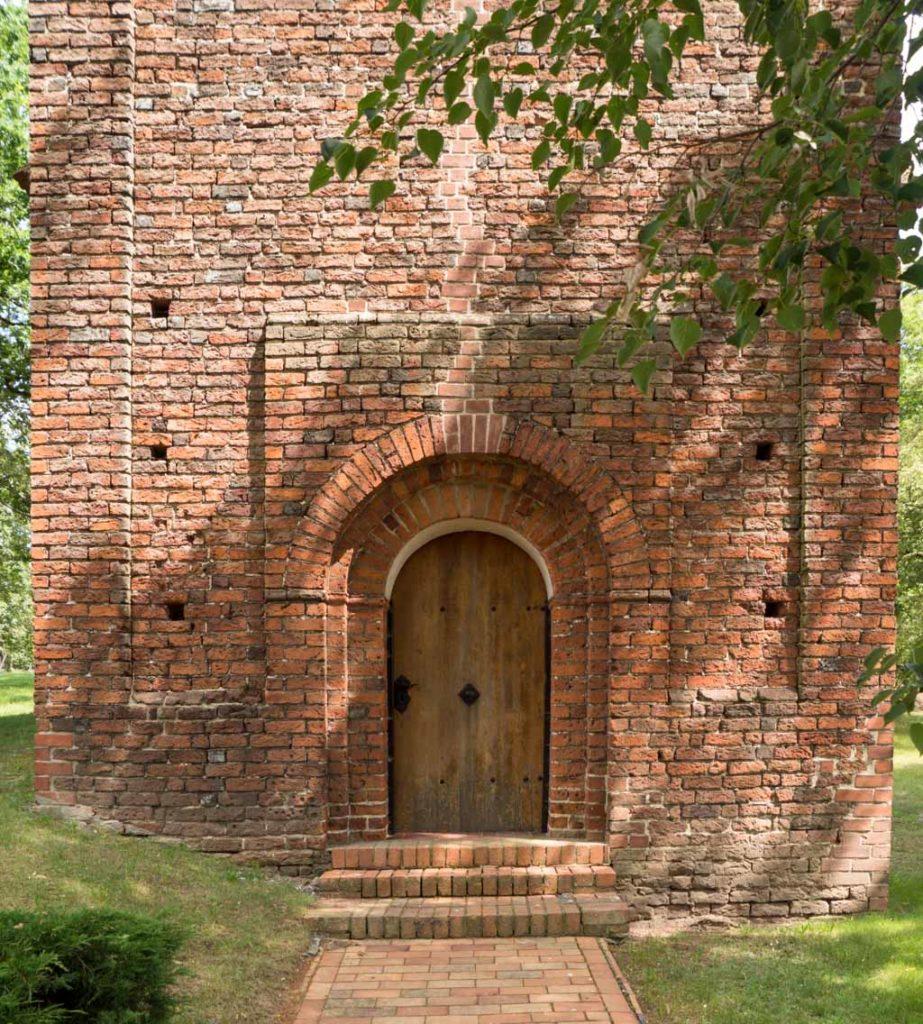 Dorfkirche Schmetzdorf, Westportal