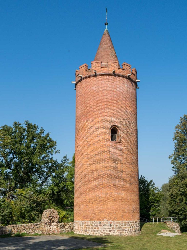 Burg Putlitz, Bergfried.