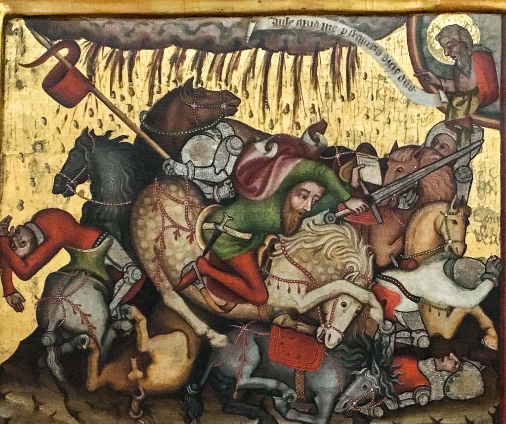 Wandlung des Saulus zu Paulus