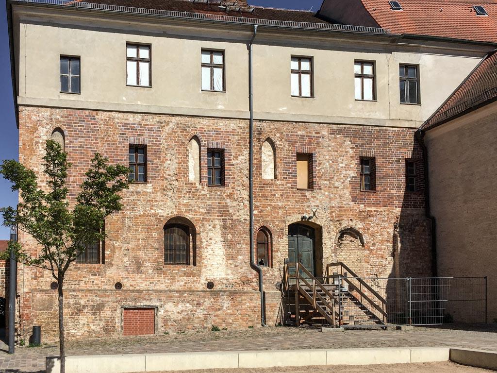 Die Spiegelburg, das älteste Gebäude der Klausur