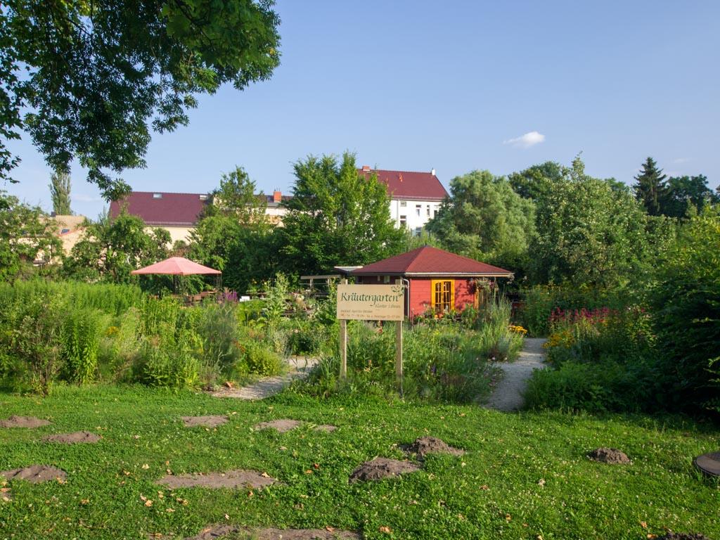 Kräutergarten auf dem Klostergelände