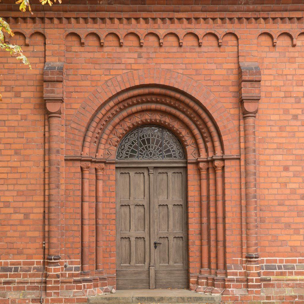 Portal des nördlichen Seitenschiffs