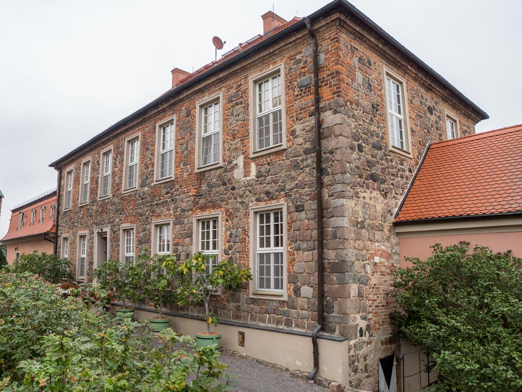 Komturei Lietzen Herrenhaus, Ansicht von Südwest