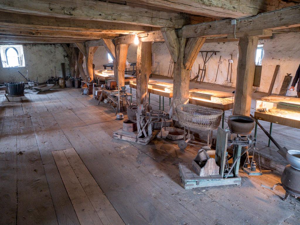 Komturei Lietzen Erstes Obergeschoss der Scheune