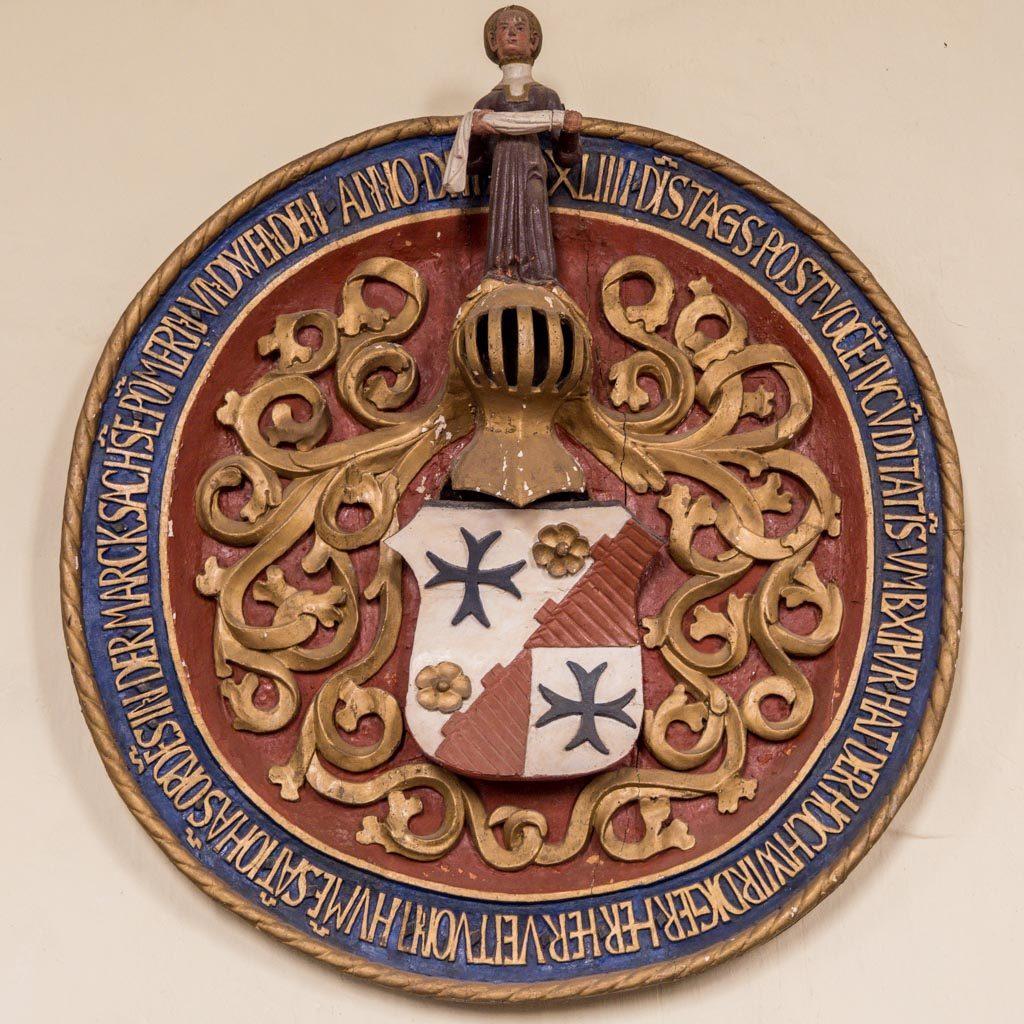Komturei Lietzen Wappenschild von 1544