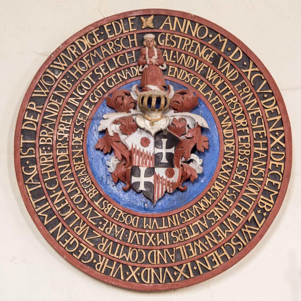 Komturei Lietzen Wappenschild von 1595