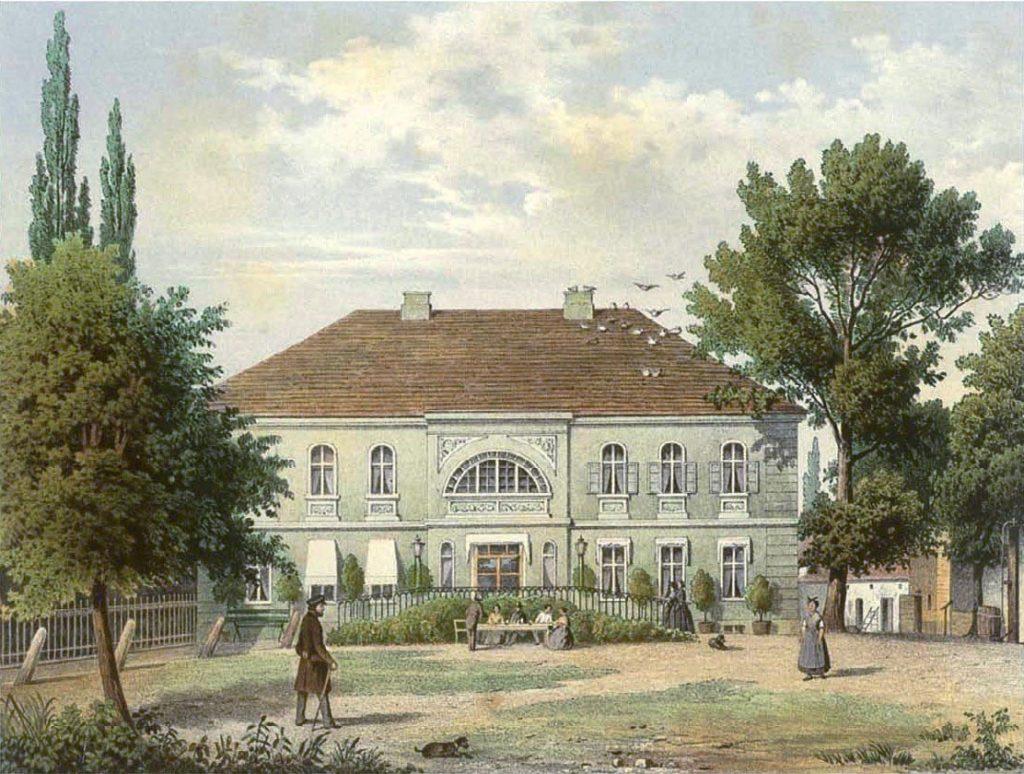 Gutshaus Sieversdorf (um 1700), Sammlung Duncker, gemeinfrei