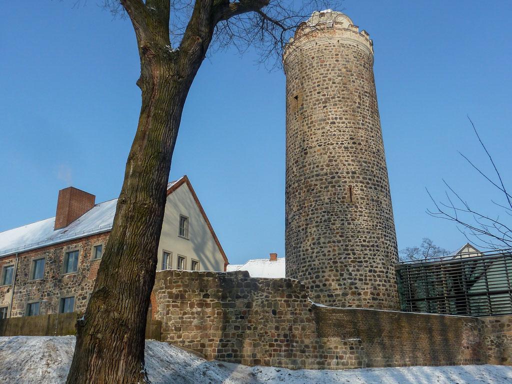 Burg und Bischofsresidenz Ziesar Bergfried